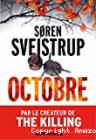 Octobre, Søren Sveistrup (Albin Michel, 2019)
