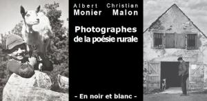 Monier / Malon - Photographes de la poésie rurale